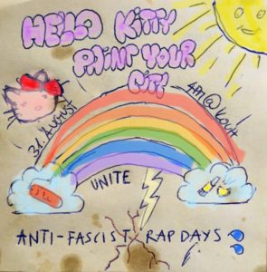 hello kitty ::::: paint your city